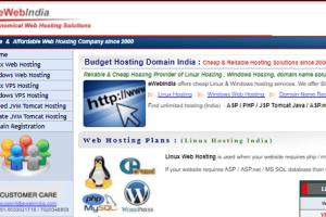 ewebindia web hosting