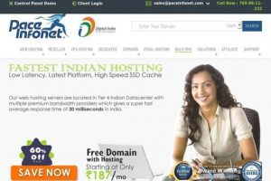 pace infonet hosting review