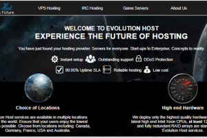 evolution host customer services